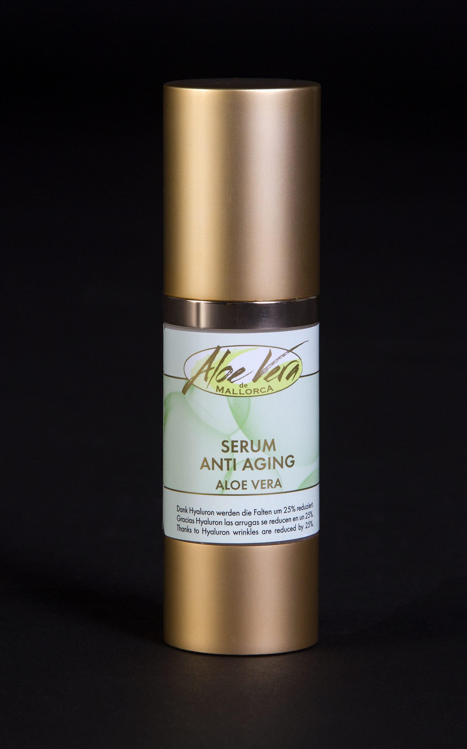 Aloe Vera Anti Aging Serum